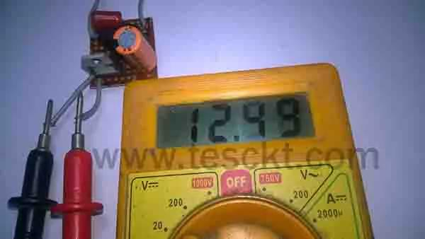 Transformerless power supply or capacitive power supply circuit